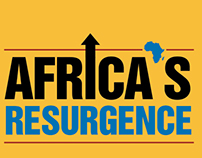 Book Cover Design - Africa's Resurgence