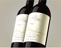 Pinot Noir 2014 Label. Australia