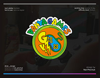 Logo and illustration design for Youtube channel