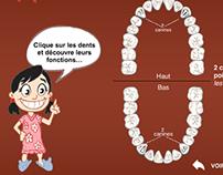 Jeux pour enfants - PROJET FLASH AS3 - WEBDENTISTE