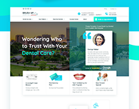 (live) Brushup Dental - Website Design