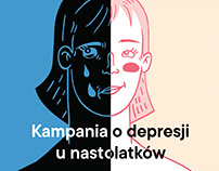 Social campaign about teen depression