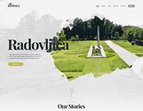 diStory website - WIP