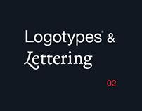 Logotypes & Lettering — 02