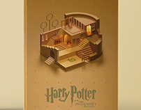 Harry Potter 3D Covers