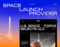 ULA — New Website