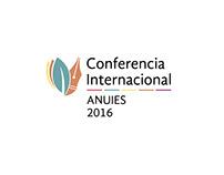 Logotipo de la Conferencia Internacional ANUIES 2016