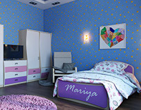 Perfect room for a little girl