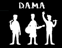 DAMA animations for live show