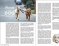 Think Like a Dog Spread Design