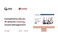 COMPLETERES.EDU.AU | WEBSITE TRAINING