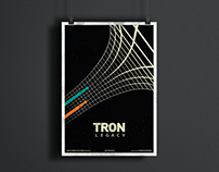 TRON Poster Re-design