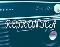 Retronica font
