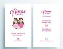 Criação de marca e avatar - Ninas Criativas