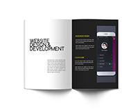 Creative Agency - A4 Portfolio Brochure