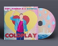 Coldplay CD: Illustration