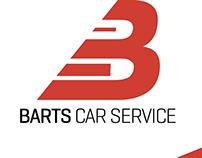 Barts' Car Service Branding
