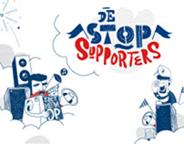 """Nicotinell """"De Stopsupporters"""" Hyves Campaign"""
