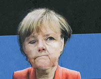 Merkel isn't asleep