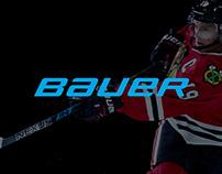 Bauer Hockey e-Commerce Website Design