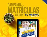 Campanha Matrículas Abertas - Objetivo Rio Claro