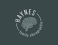 Haynes Family Chiropractic Logo Design