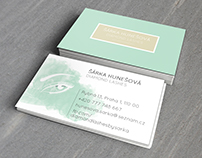 Diamond Lashes business card