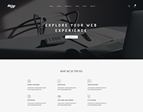 Shine - Creative Multipurpose Minimal Template