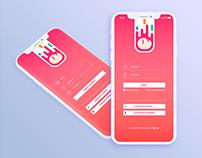 Login | Register Interface