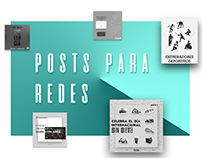 Posts para Redes Sociales