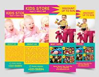 Kids Store Flyer Template