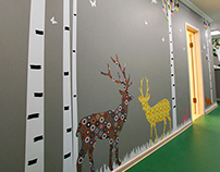 Wall decor kindergarten