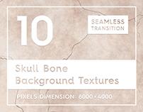10 Skull Bone Background Textures