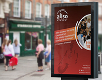 Allso Academy / Outdoor & E-mail Advertising Design