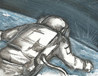 Storyboards for 'Secret Space Escapes'