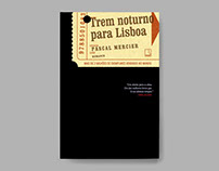 Book cover – Night train to Lisbon