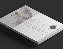 Cassiopeia Resume Template