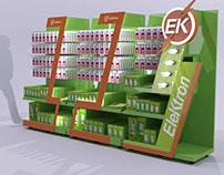 Exhibidores modulares Elektron