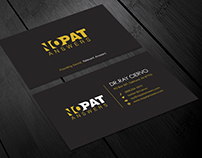 Sophisticated  simple Business card design