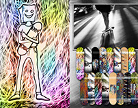 Designed decks - The 16th Anniversary of Jagera skating