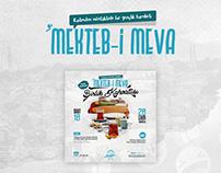Mektebi Meva Poster Design