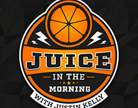 Juice in the Morning Podcast Logo