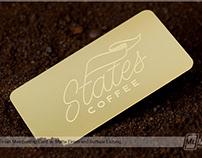 Matte Brass Finish Membership Card