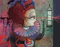 Magazine Page Design and Illustration