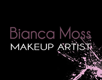 Bianca Moss Makeup Artist Business Cards