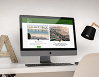 Dubai Plus Four Website Mockup
