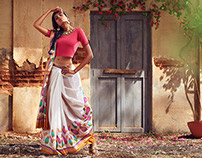 Phool Mandi - Anouk SS15 Campaign for MYNTRA