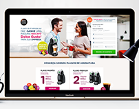 Dolce Gusto - Landing Page