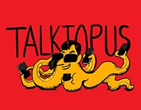 Talktopus, Sharedil, Voicebot and Chatterbox. Comics.