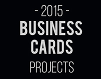 2015 Business Cards Portfolio